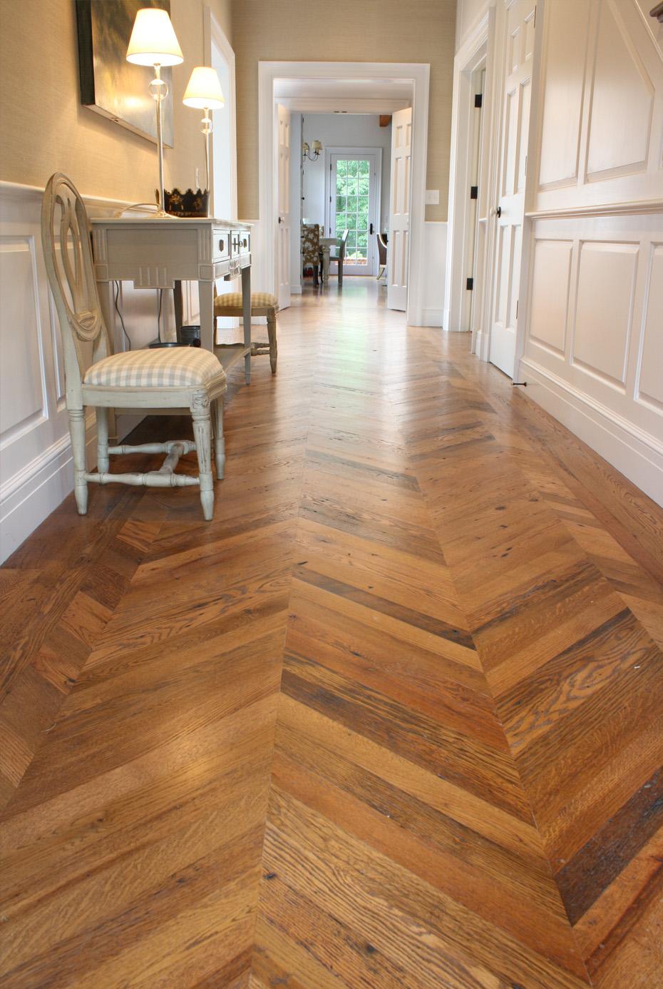 Reclaimed Antique Flooring Smooth Oak Mountain Lumber