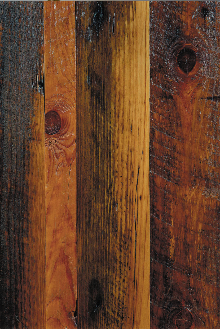 Distressed reclaimed antique heart pine flooring for Distressed wood flooring