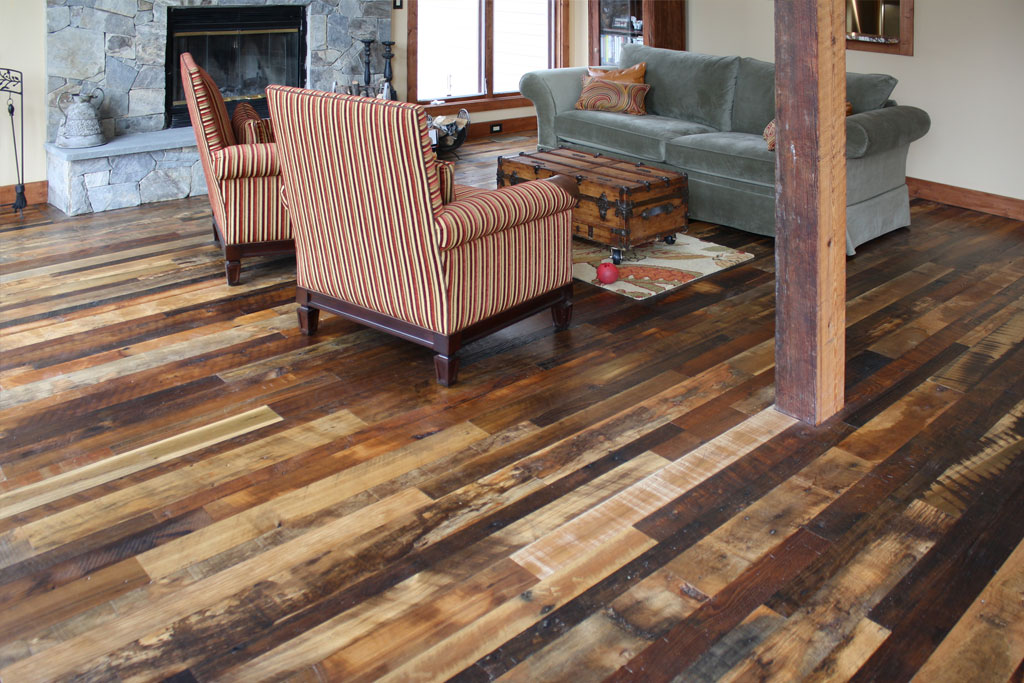 Reclaimed Antique Flooring Homestead Distressed