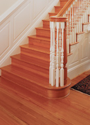 Crown Grade Antique Pine Flooring - Staircase