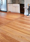 Select Antique Pine Flooring - Kitchen