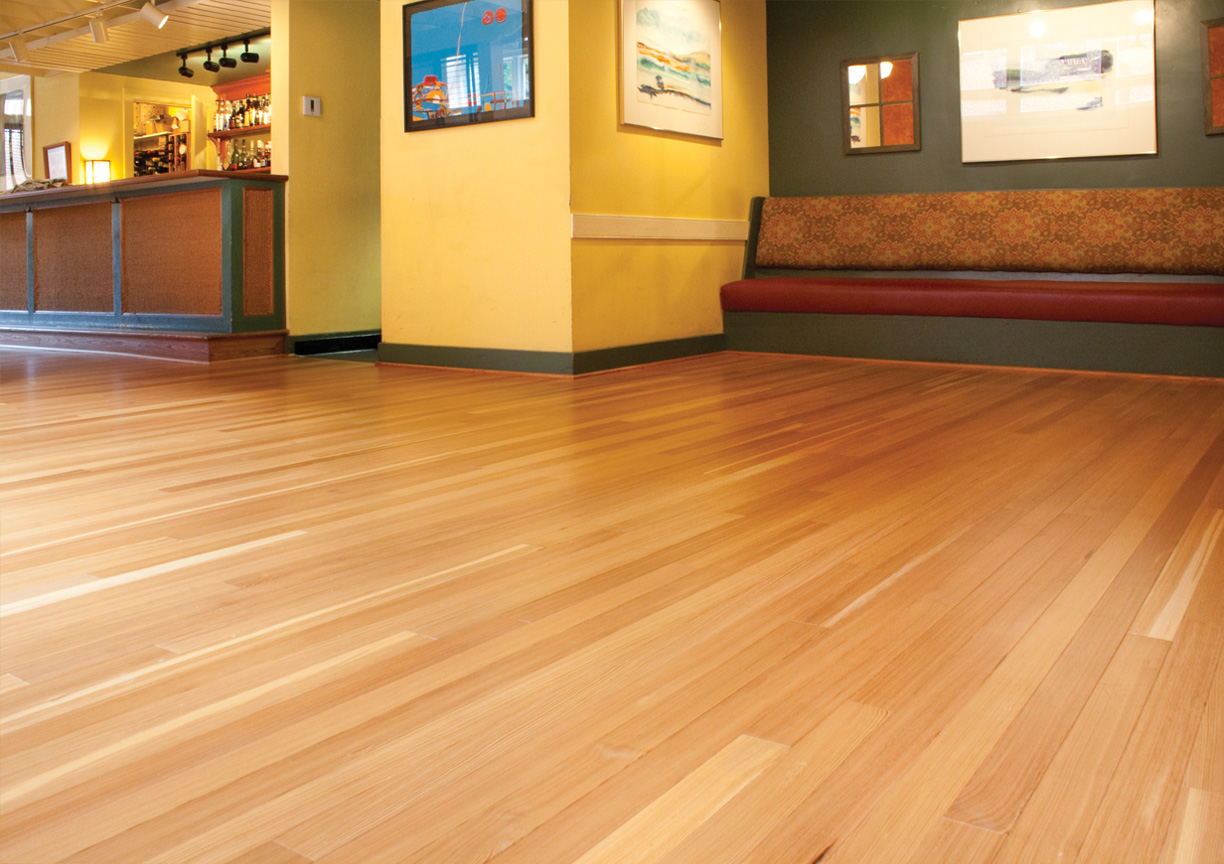 Commercial projects mountain lumber company for Commercial wood flooring