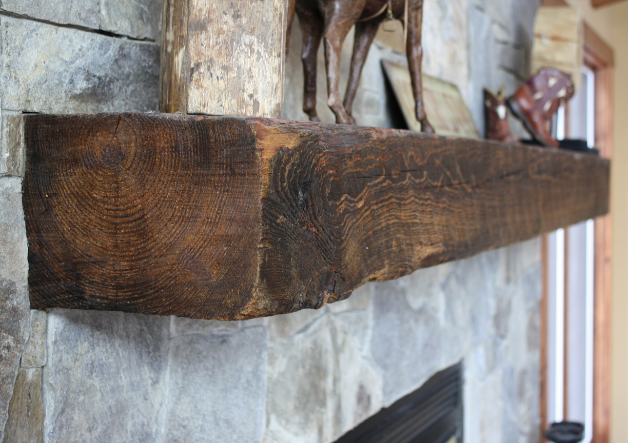 Reclaimed Antique Wood Mantels Mountain Lumber Company
