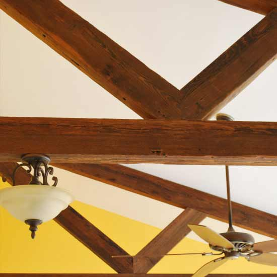 Reclaimed Antique Beams Mountain Lumber Company