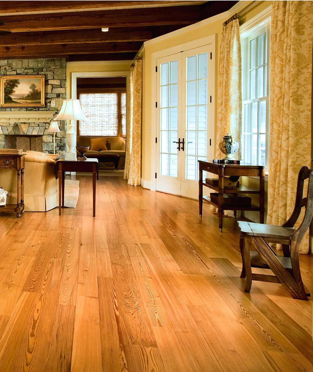 Reclaimed Heart Pine Flooring Mountain Lumber Company