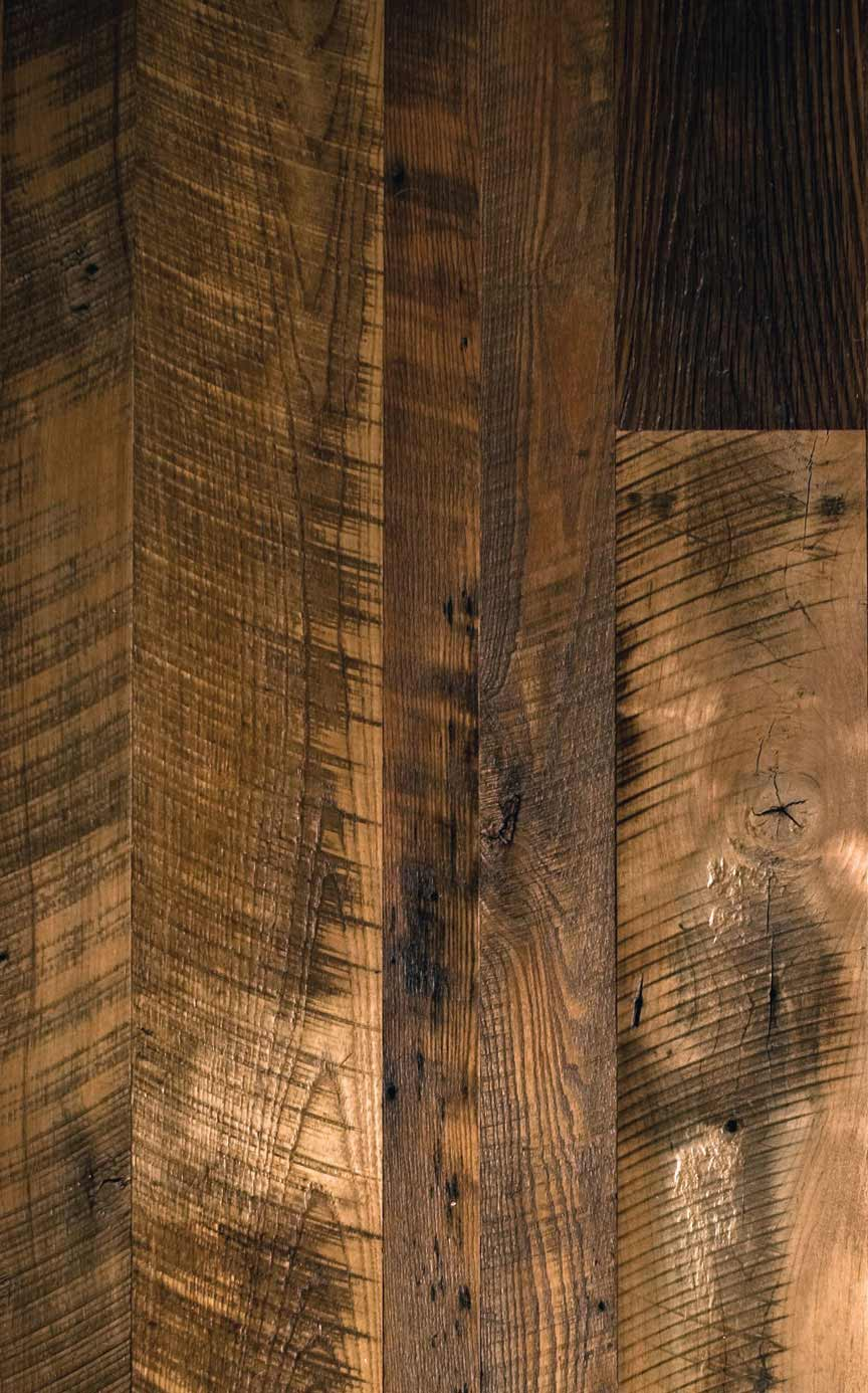 Antique mixed hardwoods distressed mountain lumber company for Reclaimed wood decking