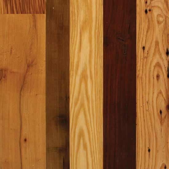 Antique Mixed Hardwoods Mountain Lumber Company