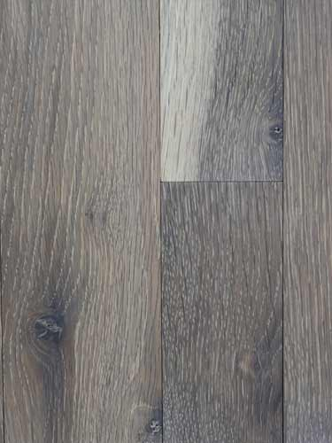 Character White Oak Flooring with Custm Gray Finish