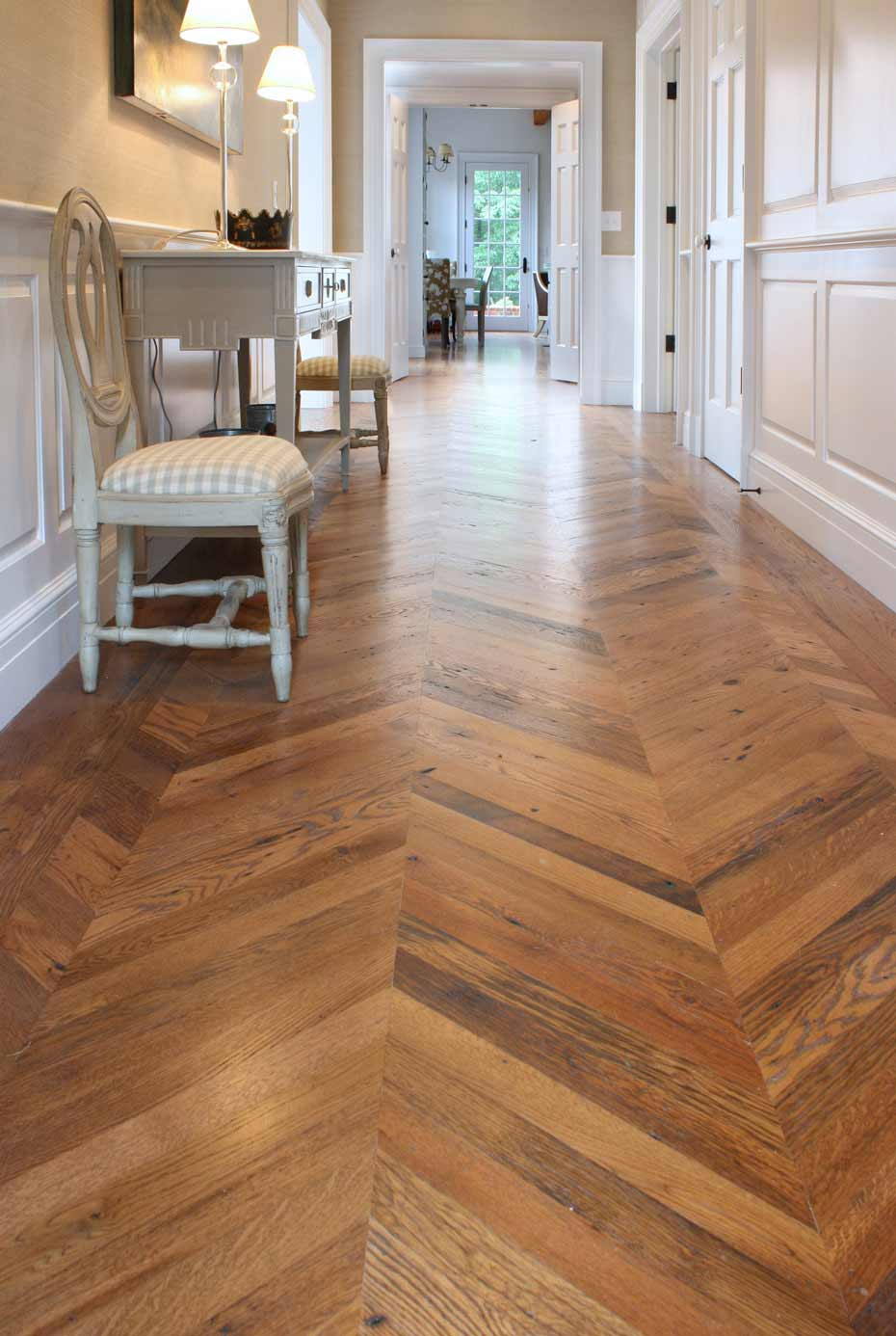 Custom Patterned Flooring Mountain Lumber Company