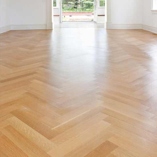 Rift Grade White Oak Flooring with Natural Finish