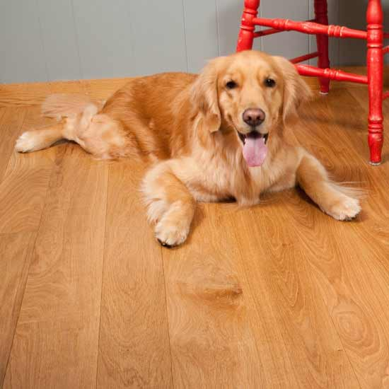 Select White Oak Flooring with Natural Finish