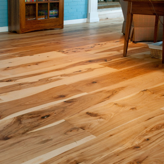 Harvest Hickory Flooring Mountain Lumber Company