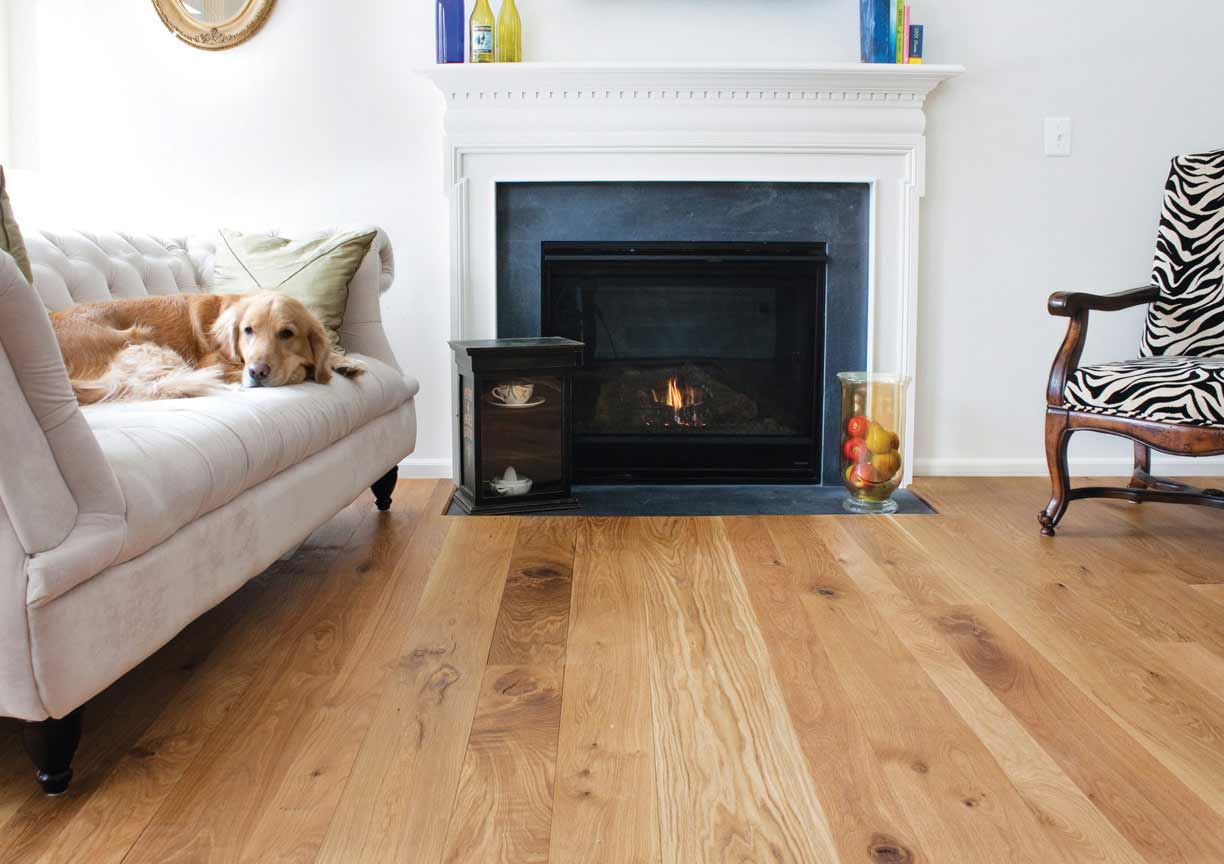 Harvest White Oak Flooring Mountain Lumber Company