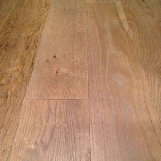 White Oak Flooring with Custom Finish