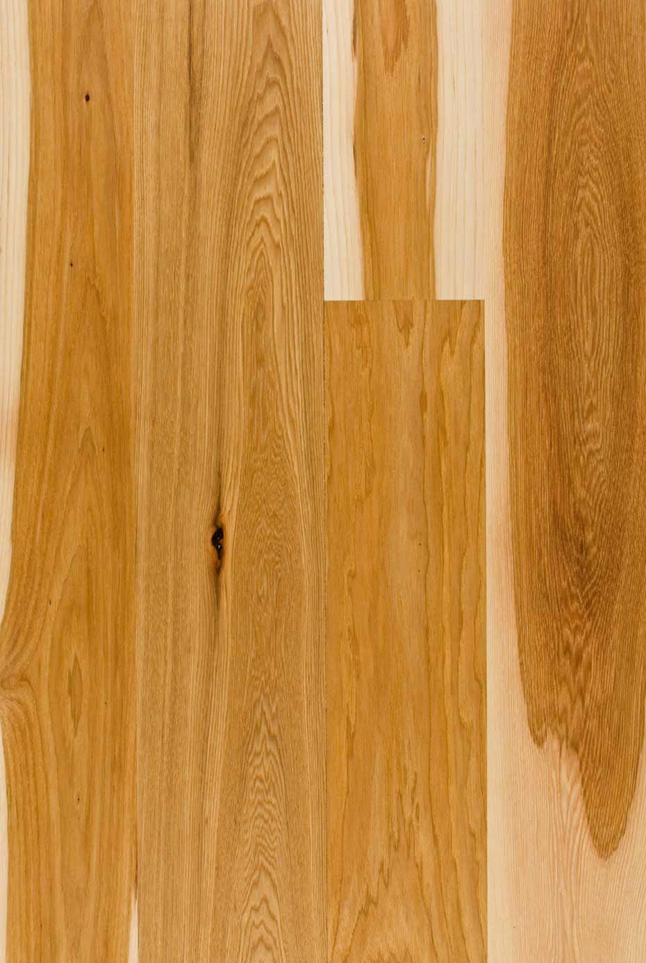 Harvest hickory flooring mountain lumber company for Hickory hardwood flooring