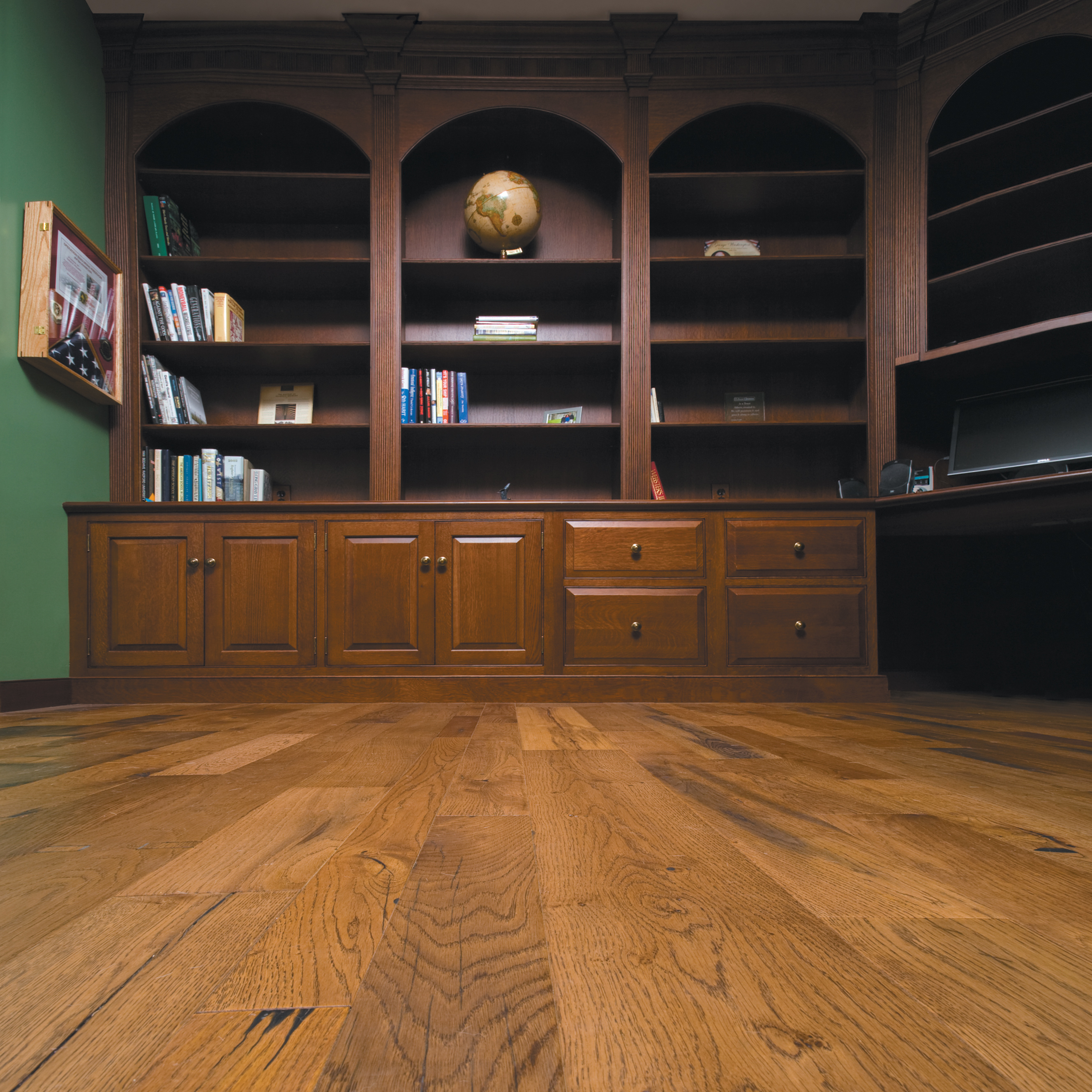 reclaimed antique oak flooring from the guinness brewery's brewing vats