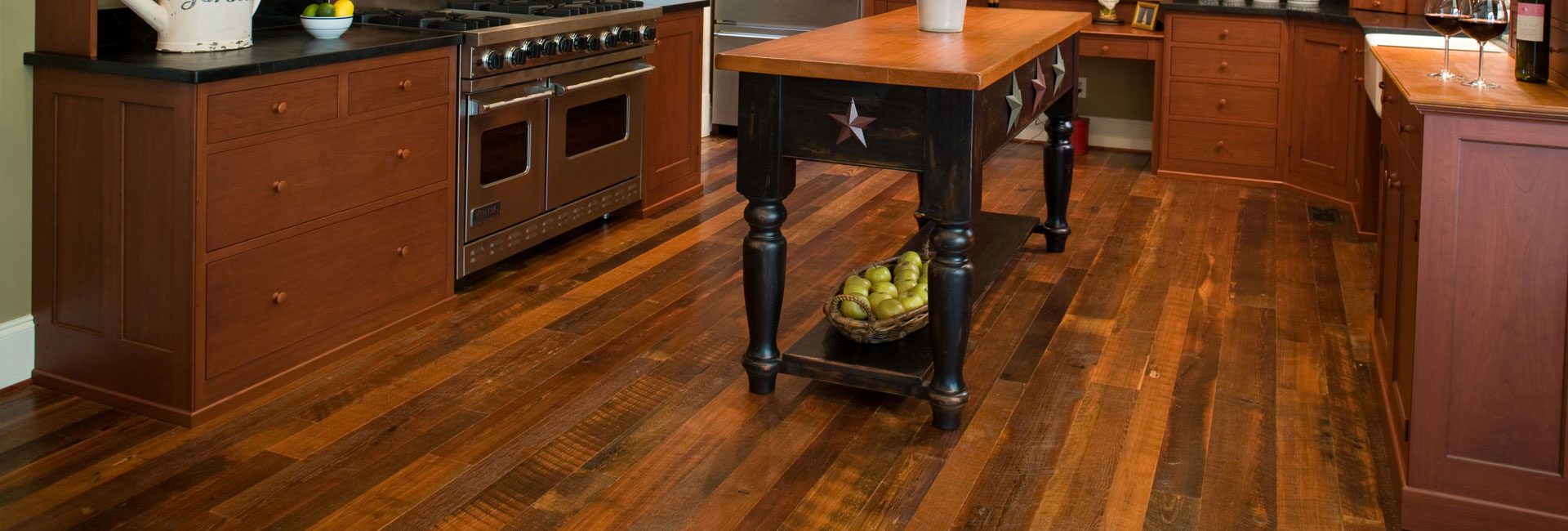 authentic distressed banner - Distressed Pine Flooring